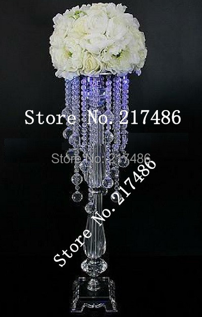 Aliexpress buy crystal table top chandelier centerpieces for aliexpress buy crystal table top chandelier centerpieces for weddings crystal centerpieces without the bead stands and flowers from reliable aloadofball Image collections