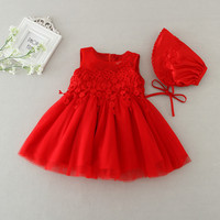 A Line Girls Wedding Dress Baby Girl Clothes Christening Newborn Infant Dresses For Party Kids 1