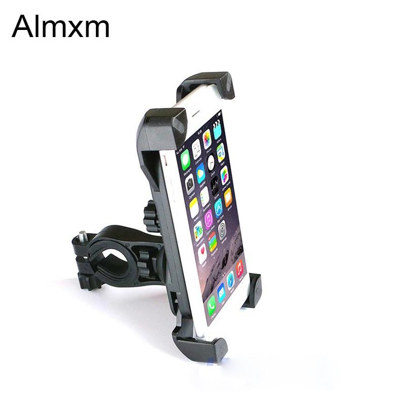 Bike Phone Holder Motorcycle Bike Bicycle Handlebar for 3.5-6.5inch Cell Phone GPS Mount Holder