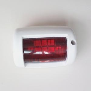 Image 4 - 1 zestaw czerwony zielony Port/na prawą burtę światła 12 V łódź morska jacht LED światło nawigacyjne