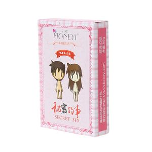 Adult Sex Poker Couple Erotic Love Sexy Posture Night Bar KTV Playing Card Game(China)