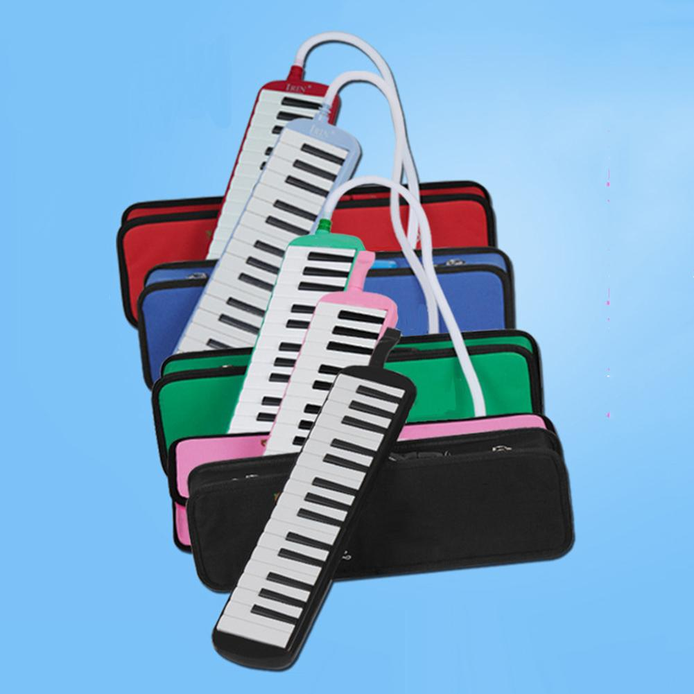 NEW Portable <font><b>32</b></font> <font><b>Key</b></font> <font><b>Melodica</b></font> Mouth Organ Piano Style Student Class Instrument Gift image