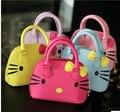 2015 hello kitty сумка кожа женщины сумка дизайнер оболочки сумки сумки высокое качество сцепления bolsas femininas couro 49