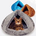 Щенок, домашнее животное, Кот-кровать для маленькой собаки, мягкое теплое гнездо для питомника, кровати для кошек, спальный мешок для дома, к...