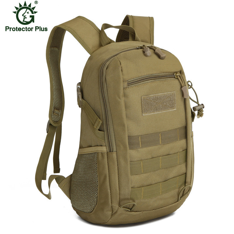 15L Military Army Backpack Trekking Bags Camouflage Rucksack Molle Tactical Bag Camping Sac De Sport Travel Backpacks in Climbing Bags from Sports Entertainment