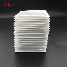 4f203ea3d1f 50pcs   (11   11cm + 4cm) White Bubble Envelope Bubble Film Bag Pearl