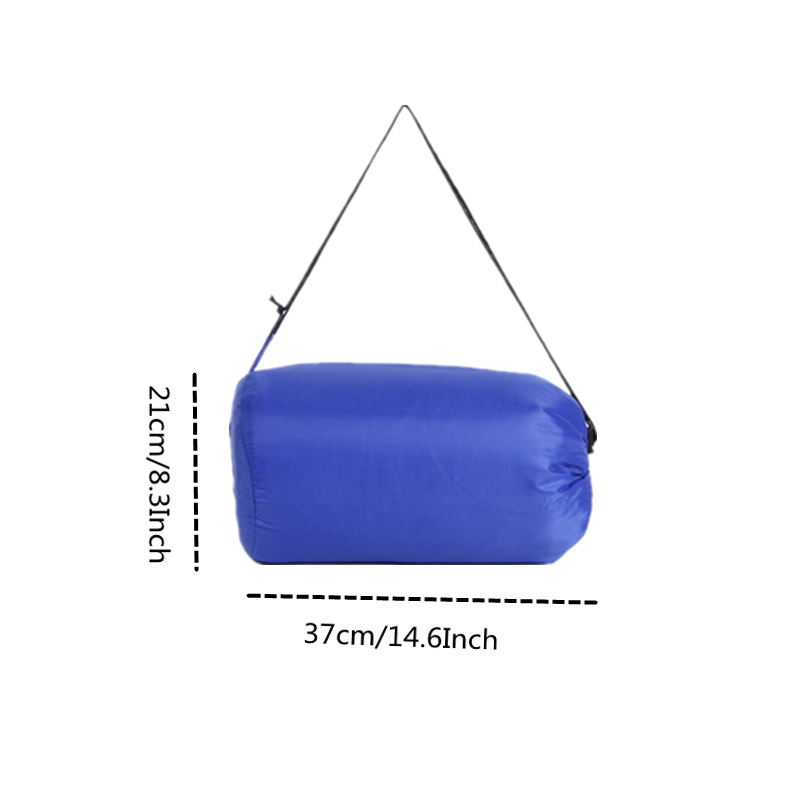 Image 3 - VILEAD 5 Colors Envelope type Ultralight Sleeping Bag Portable Waterproof Hiking Camping Stuff Adult Quilt Lightweight Winter-in Sleeping Bags from Sports & Entertainment