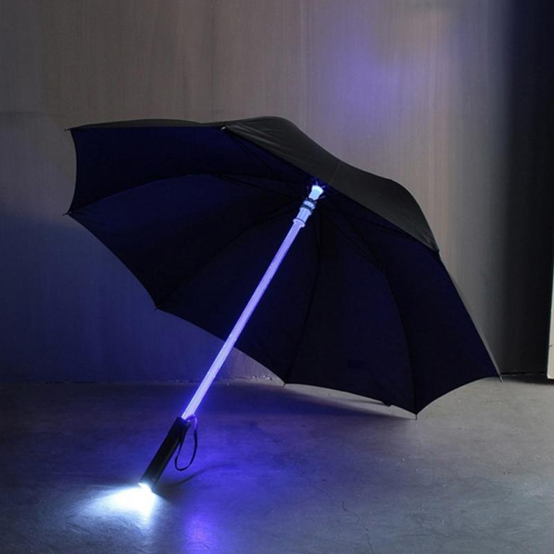 Blue Led Umbrella: Totally Rad Stuff