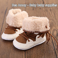Super Wool Cloth With Soft Nap Warm Winter Baby Boys Snow Boots Infant Shoes Antiskid Baby Shoes Girls First Walkers Bebe Boots