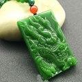 Natural Jasper Dragon Men and women pendants gift accessories