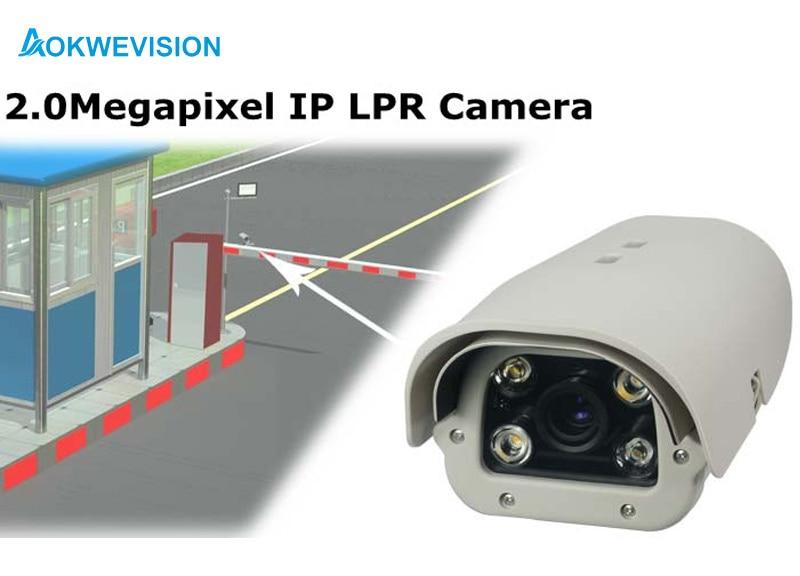 Onvif 1080P 2MP 5-50mm linse Køretøjer Licensnummer - Sikkerhed og beskyttelse - Foto 3