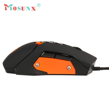 Wired USB Optical Gaming Mouse Top Quality 3200DPI 7 Butttons Adjustable Mice For Laptop PC Rato 17July21
