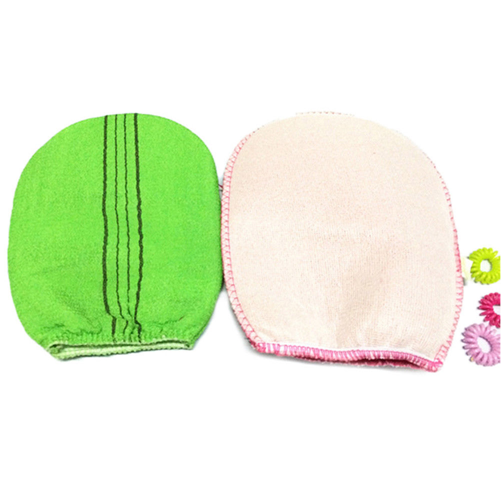 Soft Body Scrub Gloves Towel Exfoliating Korean Style Body Bath Cleaning Glove Shower Scrubber Wash Skin Spa Towel Good Quality