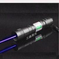 JSHFEI черный чехол лазерная указка 200 мВт Высокая мощность матч зеленый красный фиолетовый точка лазерный прицел 405Nm 530Nm 650Nm lazer pen