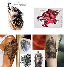 Popularne Wolf Forest Tattoo Kupuj Tanie Wolf Forest Tattoo