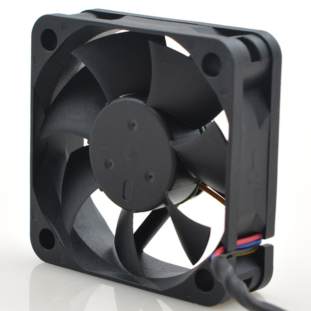 Dla delta AFB0512LB 5015 50x50x15mm 50mm wentylator 12V 0.11A podwójne łożysko kulkowe 4 przewód 4pin wyciszenie wentylatora chłodzącego