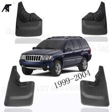 Брызговики для Jeep Grand Cherokee 1999-2004 Laredo Edition только Брызговики крыло с винтами брызговик