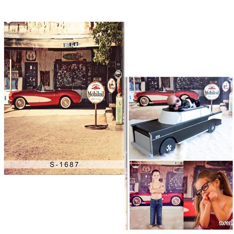 5ecbbcd0fe723 DAWNKNOW الشارع الرؤية الفينيل القماش التصوير خلفية خمر سيارة البوليستر  الخلفيات للأطفال استوديو الصور S1687