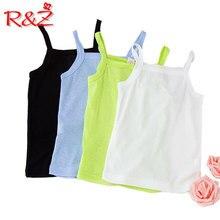R& Z/ г. летний топ для девушек ярких цветов, жилет детская одежда детское летнее пальто тонкая секция