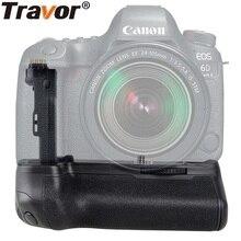 Travor Камера Вертикальная Батарейная ручка для Canon 6D Mark II 6D2 аккумулятор dslr ручка Замена BG-E21 работа с LP-E6 батареей