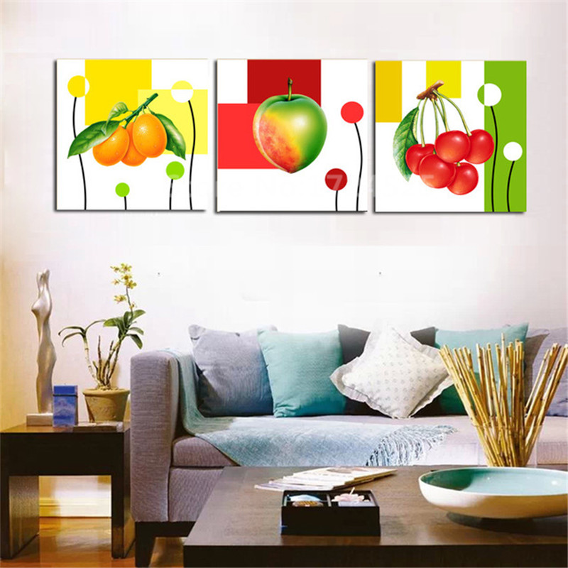 Colorful Painting Books,Fruits,Home Deco Watercolor Print,Static Nature Original Gift Spring Interior,Wall Art,Beautiful