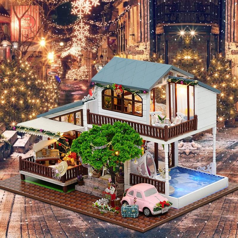 Sylvanian Families House DIY Doll House London Holiday mano casa - Muñecas y peluches - foto 6