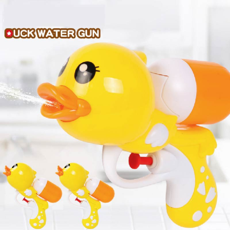 Cartoon Duck Dolphin Water Gun Waterplay Outdoor Pistol Toys Bath Swimming Toys Bathroom Toy For Kids