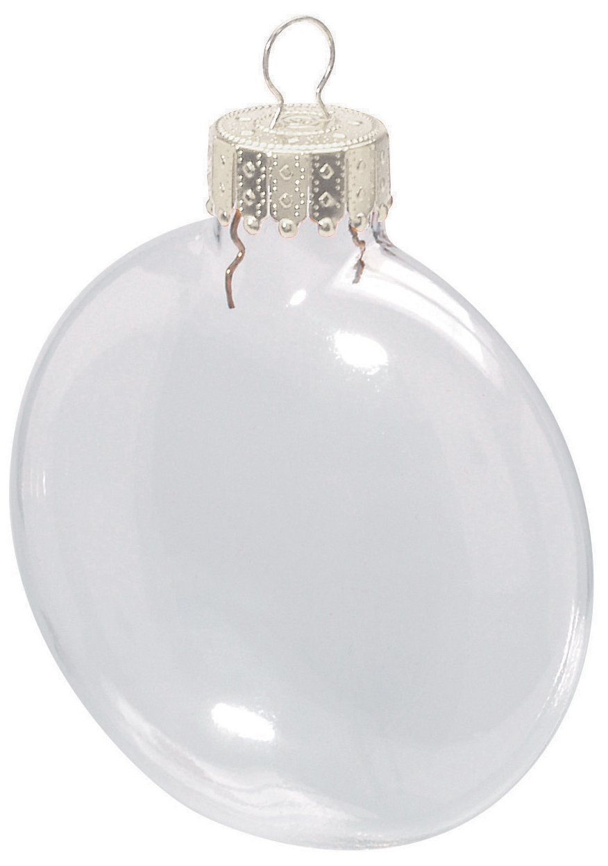 Buy free shipping diy paintable clear for Clear christmas bulbs for crafting
