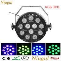 12x3w LED Par Light RGB 3IN1 LED Mini Par Light Fixture LED Disco Stage Light DJ