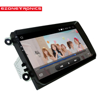 Android 4 4 Car Radio Stereo 9 Capacitive Touch Screen High Definition 1024x600 GPS Navigation Bluetooth
