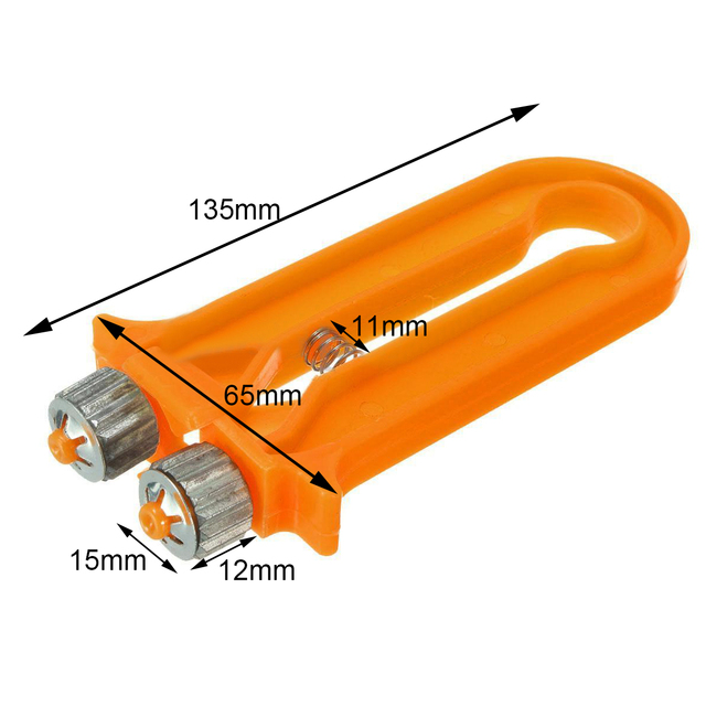 Mayitr Orange 2 in 1 Bee Hive Frame Wire Cable Tensioner Crimper ...
