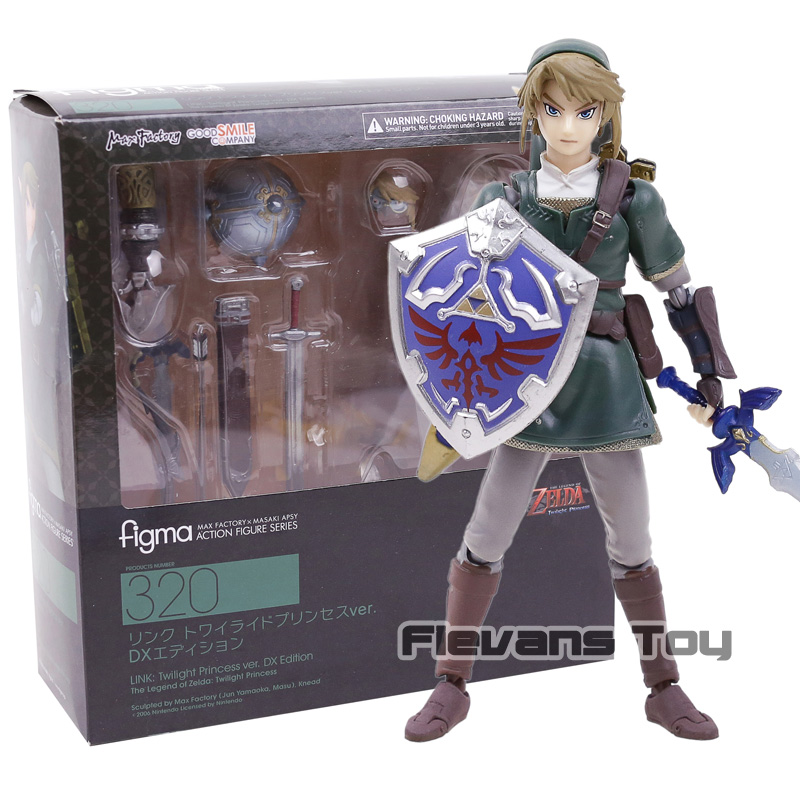 The Legend of Zelda Twilight Princess link Figma 320 Deluxe Edition PVC Action Figure Collectible Model Toy