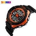 Choque skmei 0931 marca de luxo homens esporte militar relógios led digital quartz relógio de pulso pulseira de borracha relogio masculino