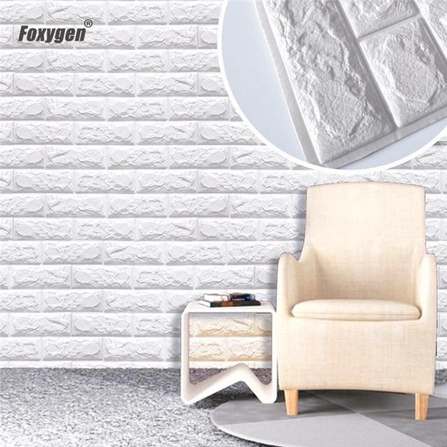 New Design Eco Friendly 3d Xpe Foam Wall Brick Tile
