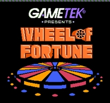 Wheel of Fortune Starring Vanna White 60 Pin Game Card For 8 Bit Game Player