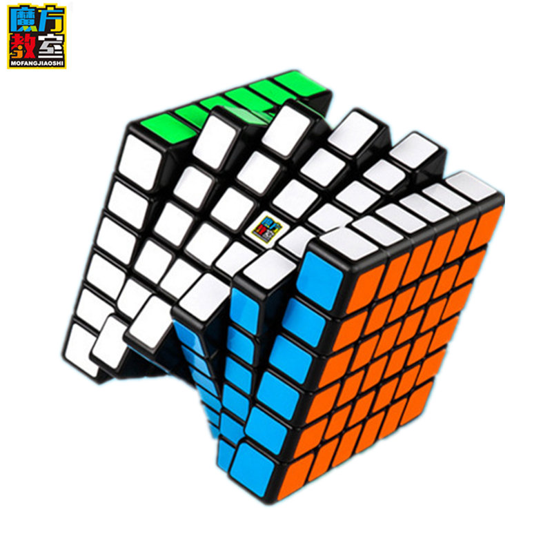 moyu Meilong 6x6x6 Professional competition cube Cube Professional game six-order cube 6 by 6 for children cube puzzle toy image