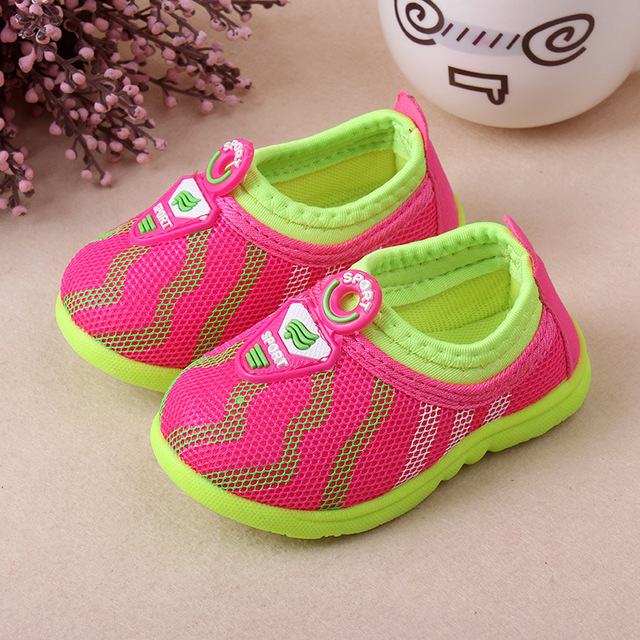 2016 Summer New Style Children Hiking shoes Kids Sport Sneakers Child Boys and Girls Running shoes baby tennis shoes