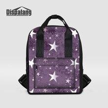 Dispalang Многофункциональный Женщины Рюкзак с принтом со звездой сумка женская ноутбук рюкзак девушки Школьные ранцы для подростков