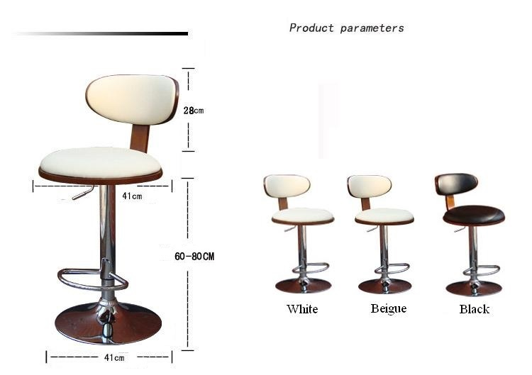Christmas bar lift stool International Beer Festival chair Office leisure coffee chair american bar chair the foot stool front desk chair coffee chair