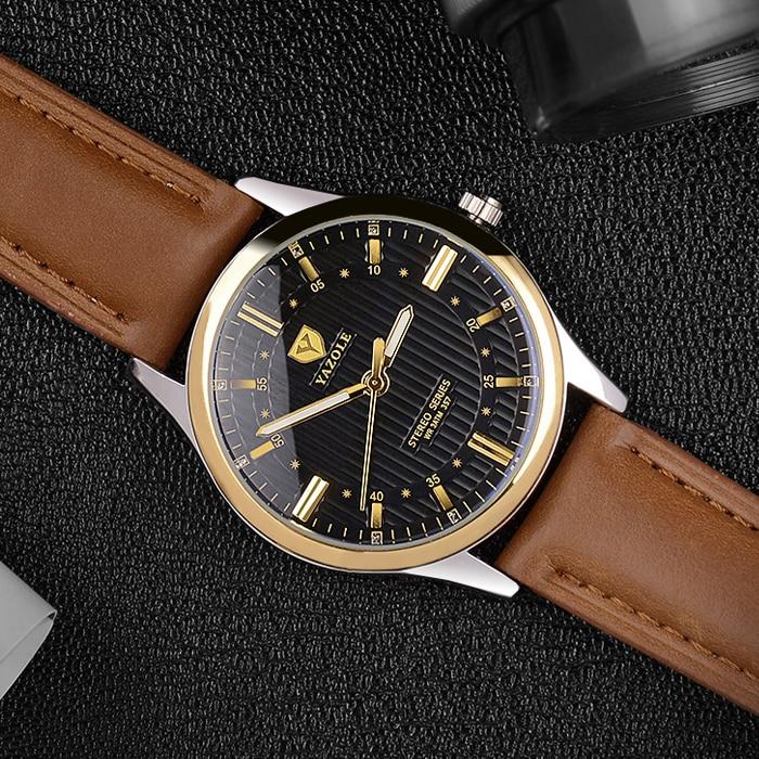 2017 new YAZOLE 357 Business Men Wrist Watch Male Quartz Wristwatches  top watches men luxury brand relogio masculino watch Men