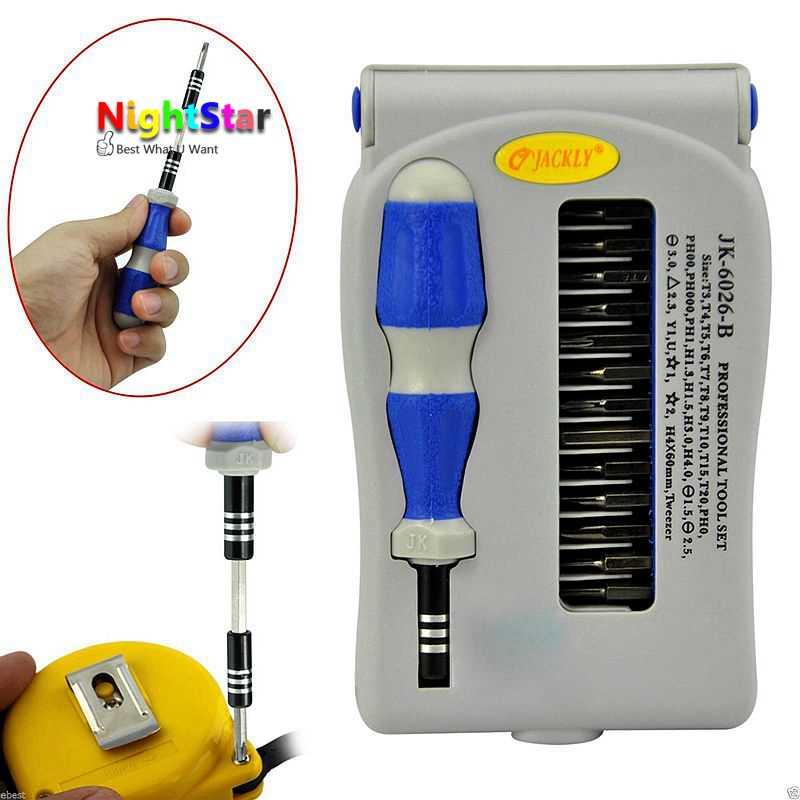 Jackly 45-in-1 Mobile Phone Precision Screwdriver Set Repair Tool JK-6089C Z8W7