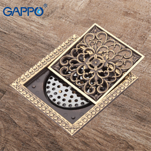 GAPPO floor bathroom drains 12*12cm bath stopper plugs sink hole covers shower drain cover floor drain cover bathroom shower