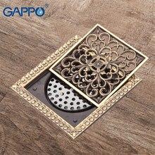 GAPPO podłogowe odpływy łazienkowe 12*12cm korek do wanny wtyki zlew otwór pokrywy odpływ prysznicowy pokrywa wpustu łazienka prysznic