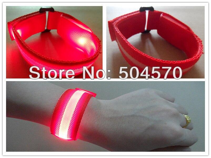 10pcs / lot 22cm najlon LED sportski ručni remen traka užaren - Za blagdane i zabave - Foto 3