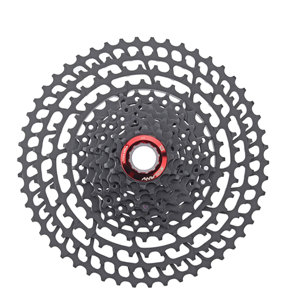11 speed 11-50T bicycle cassette freewheel sprockets bike ultralight mountain bike freewheel mtb cog 50T cdg 375g bicycle mtb freewheel 11 32t 36t 40t 42t 46t 50t sprockets 8 9 10 11 speed cassette mountain bike flywheel cog