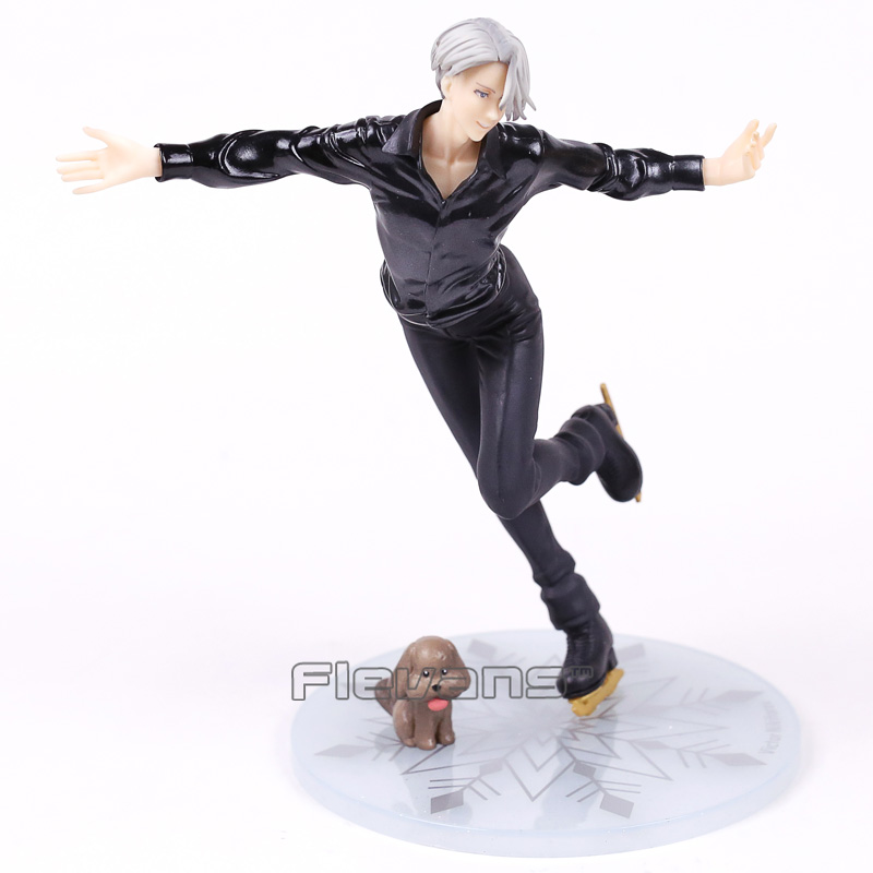 Yuri on Ice Victor Nikiforov 1/8 Scale PVC Figure Collectible Model Toy with Retail Box 21cm yuri on ice figure cosplay katsuki yuri victor nikiforov yuri plisetsky pvc figure phone strap keychain pendant toys
