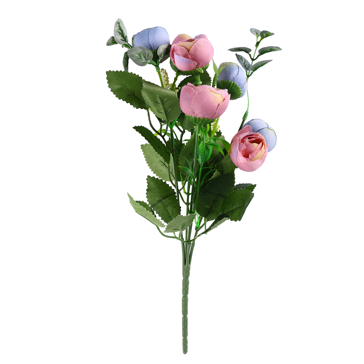 New Artificial Rose Single Stem Flowers Fake Plants Simulation
