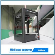 1000 mw super carver láser máquina de grabado láser mini grabador mini cnc máquina mejores juguetes de regalo