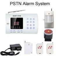 Security System For Home Alarm Wireless 433MHZ PSTN Network Call Number Remote Control PIR Sensor Door Open alarm Sensor