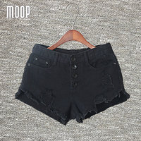 Summer Black White Denim Shorts Jeans Women Crop Tops Tassel Hot Shorts Pantalones Cortos Mujer Bermuda